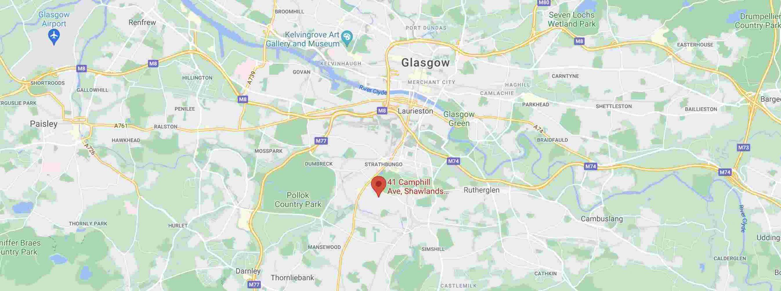 KJ Watson Joinery Location